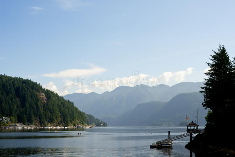 Deep Cove, North Vancouver, Canada royalty free stock images