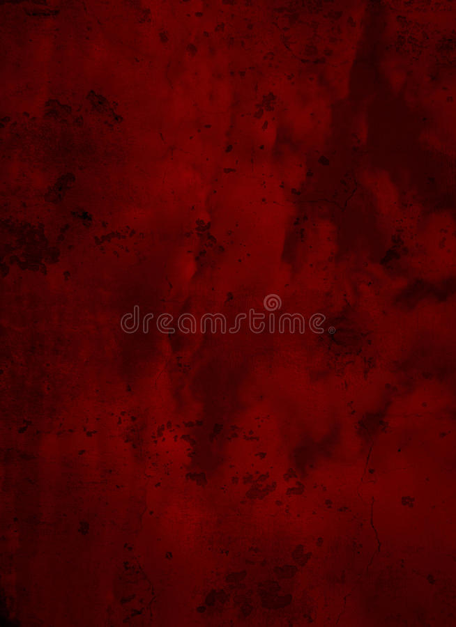 Deep Dark Red Grunge Textured Background stock photos
