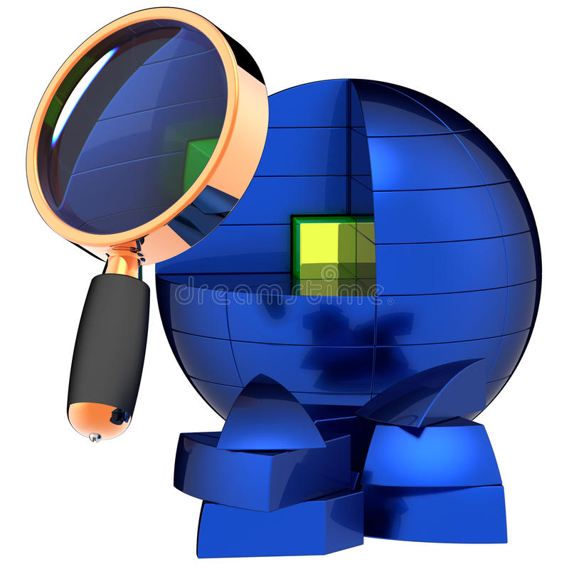 Download Deep Data Searching. I Have Found It ! Stock Illustration - Image: 16173152