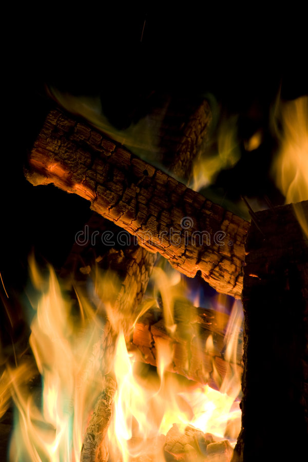 Deep Fire royalty free stock images