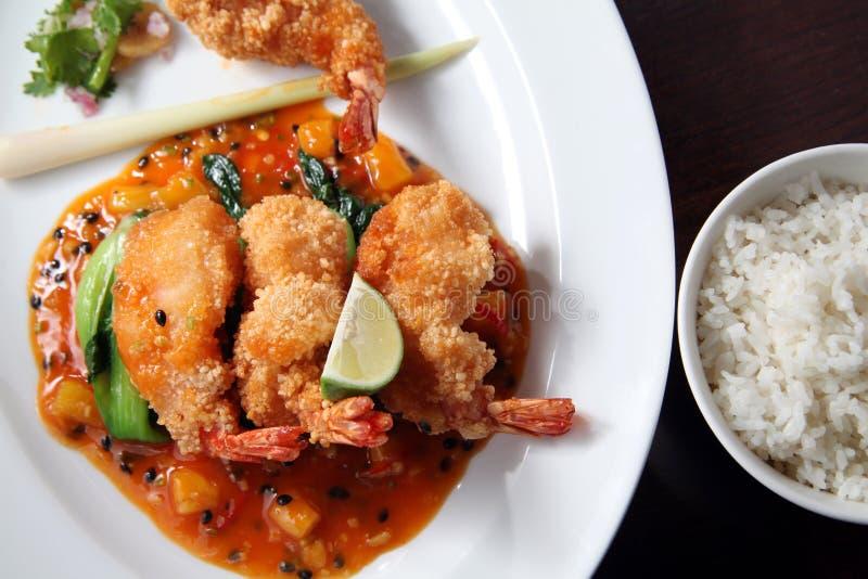 Download Deep fried shrimp stock image. Image of seafood, sauce - 15159437