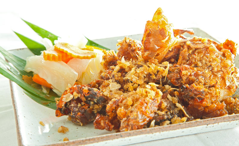 Download Deep fried Soft Shell Crab stock image. Image of claw - 26648253