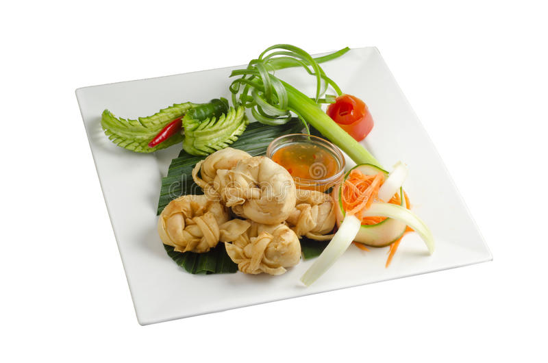 Download Deep fried wonton stock image. Image of ethnic, oriental - 25440563
