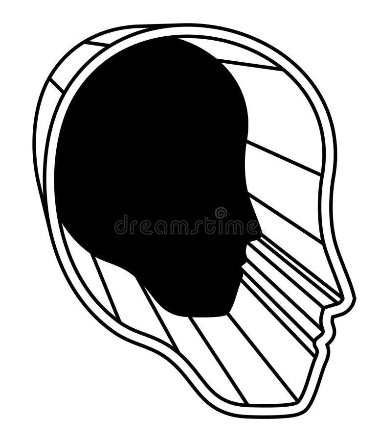 Download Deep head stock image. Image of hollow, mental, dimension - 28719795