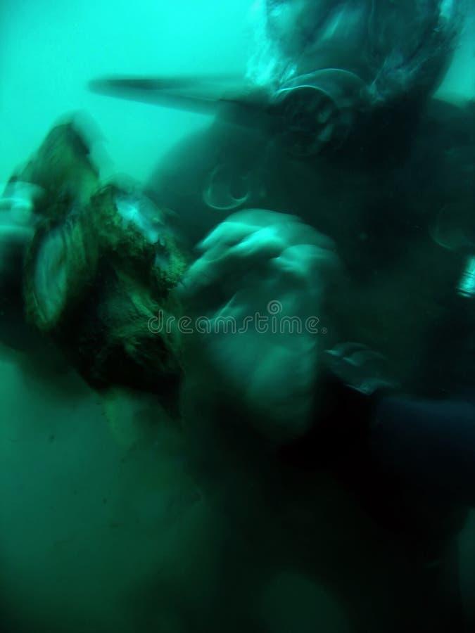 Download Deep Horror Wreck Diving Scuba Diver Stock Photo - Image of banca, divers: 251792