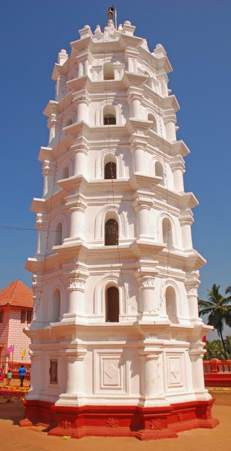 Deep Jyoti Stambh at Shree Shanta Durga Temple stock image