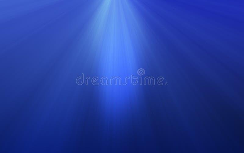 Deep Ocean Rays royalty free illustration
