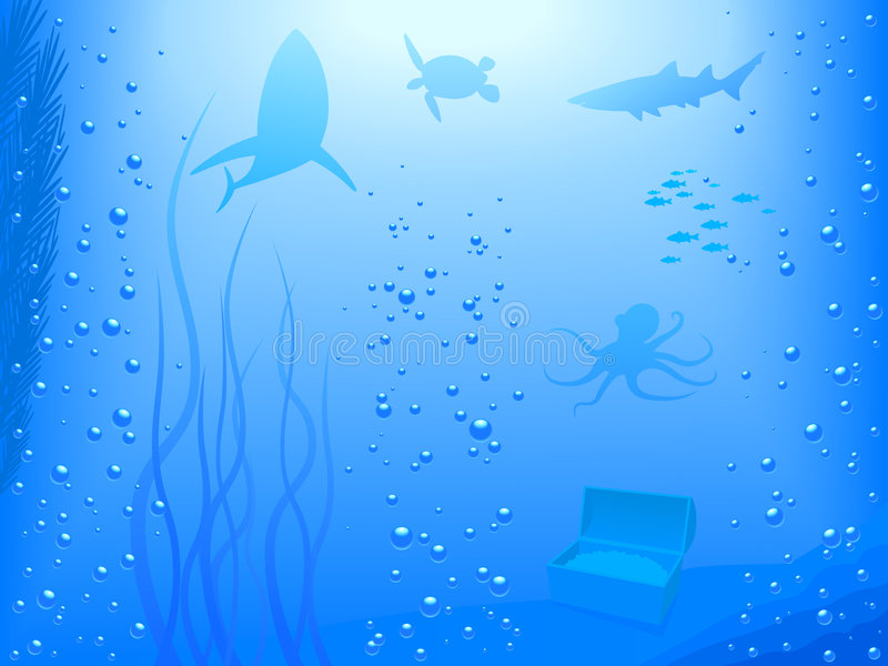 Deep Ocean (Vector) stock photos