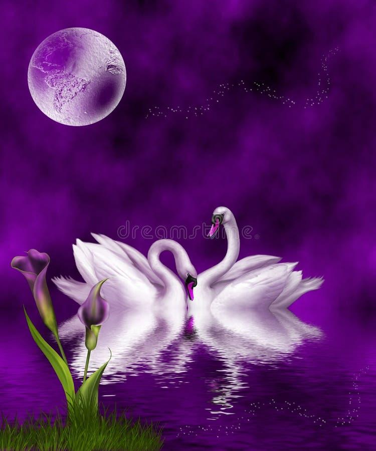 Deep Purple stock illustration