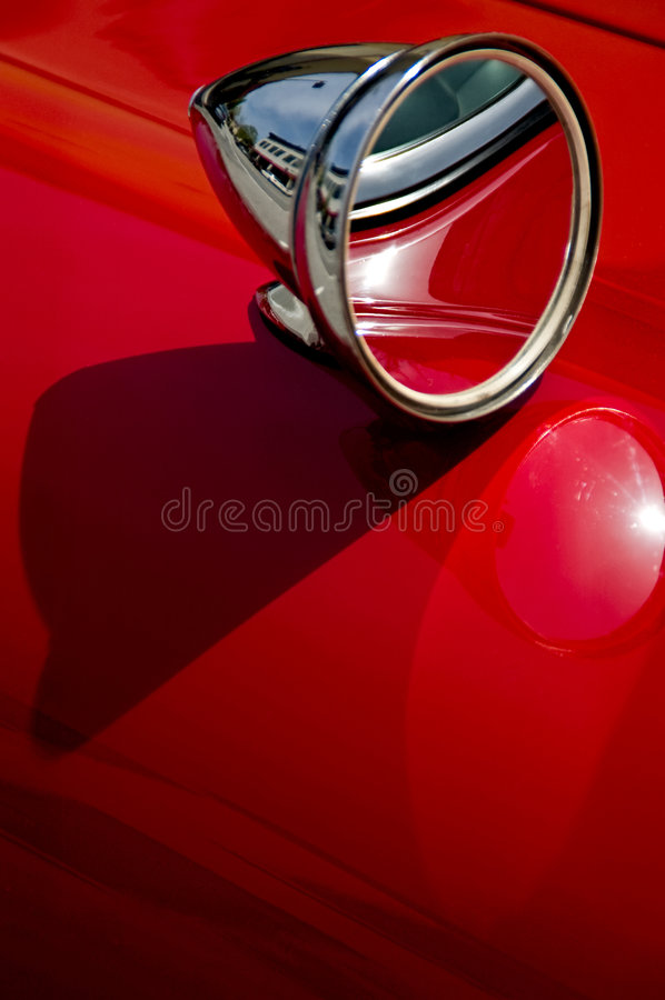 Deep Red stock photography