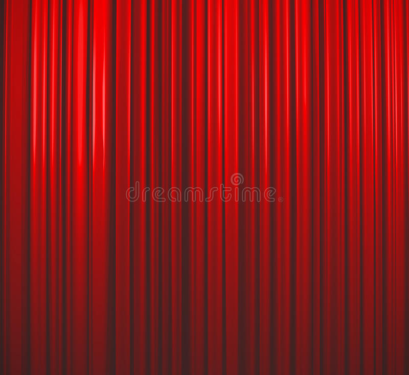 Free Deep Red Curtain Stock Images - 10886914