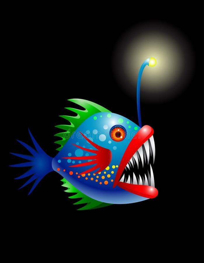 Download Deep sea fish stock illustration. Illustration of ocean - 24153971