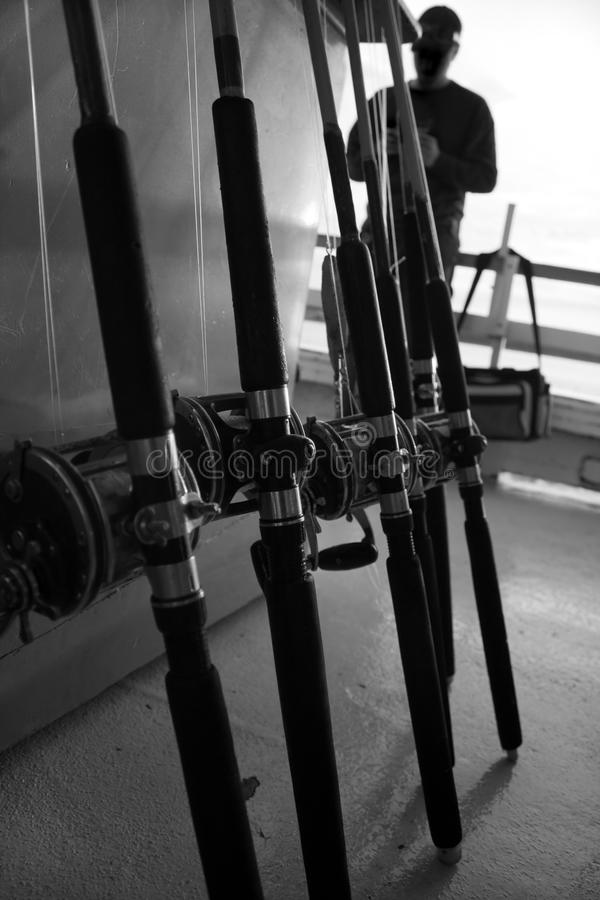 Free Deep Sea Fishing Rods Stock Image - 17602151