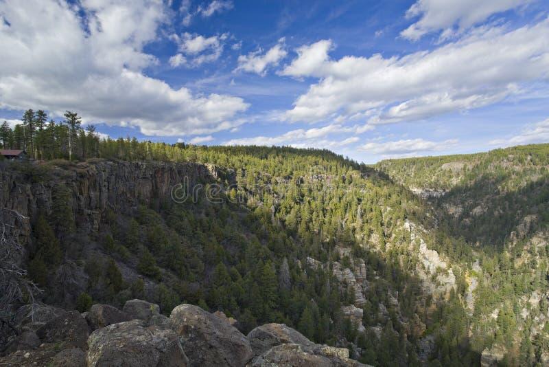 Deep Oak Canyons, Sedona AZ stock images