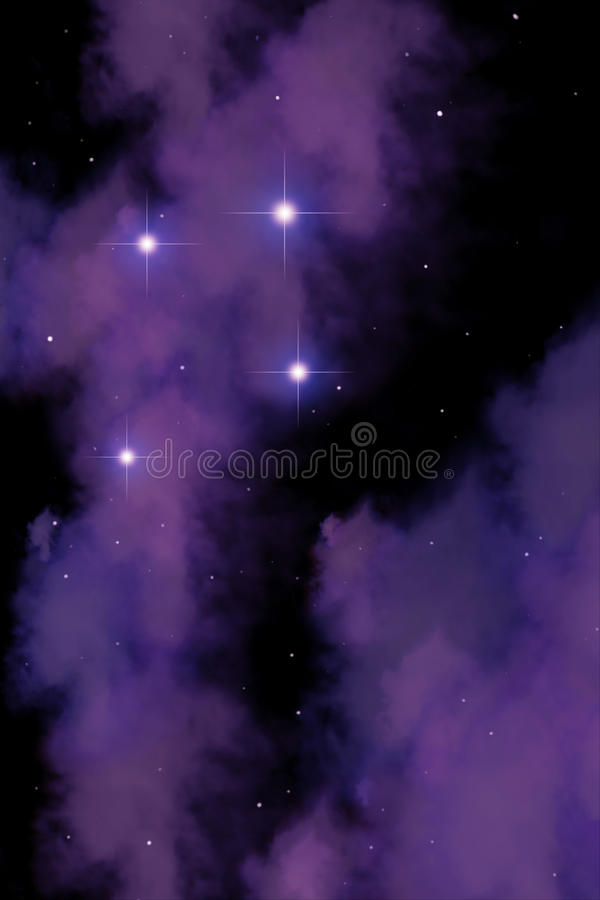 Deep Space Royalty Free Stock Photo