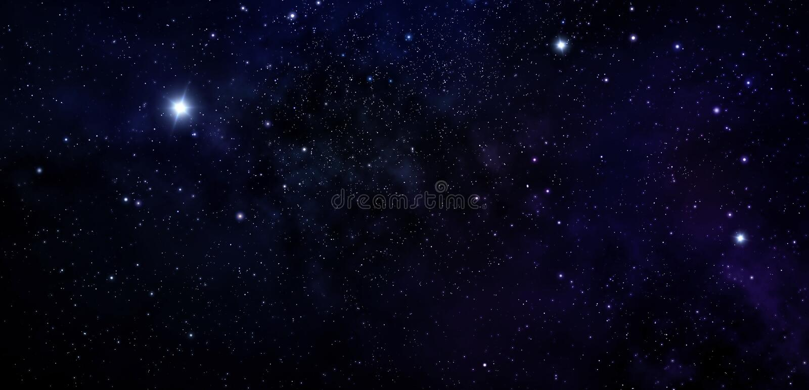 Deep space. Night sky, abstract galaxy background. Deep space. Night sky, abstract blue background royalty free stock photography