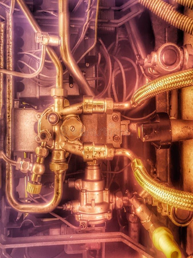 Space Engine Room: Spaceship Engine Stock Photo. Image Of Speed, Polished