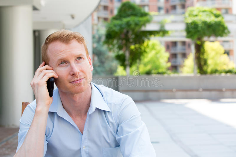 Deep thinker stock images