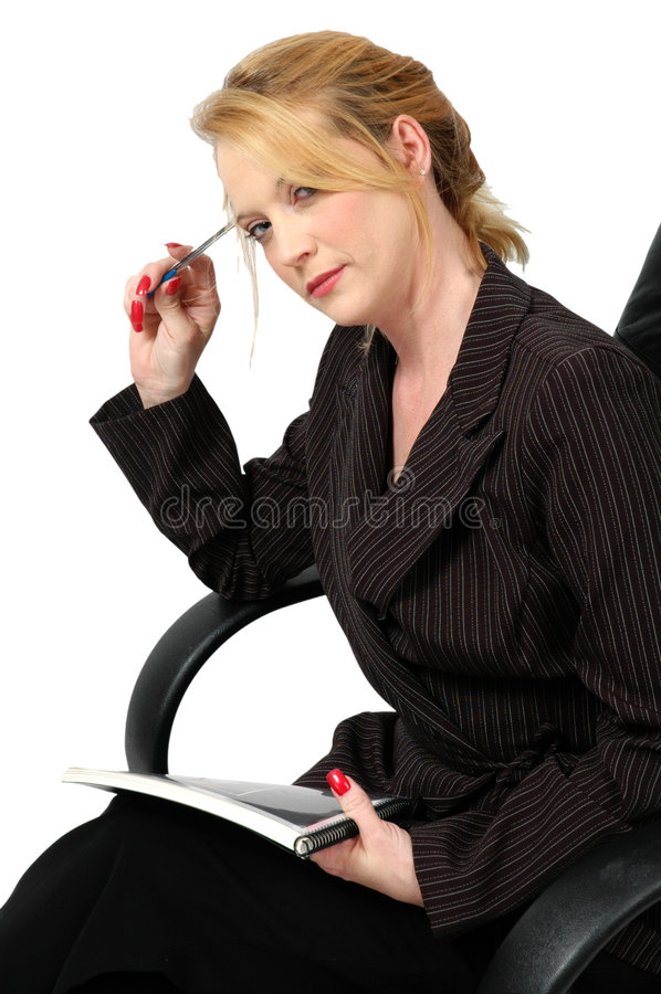 Deep in thought royalty free stock images