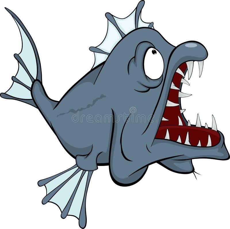 Download Deep Water Fish. Predator. Cartoon Stock Vector - Image: 28431799