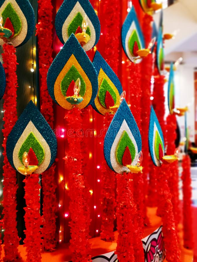 Deepawali庆祝 免版税库存照片