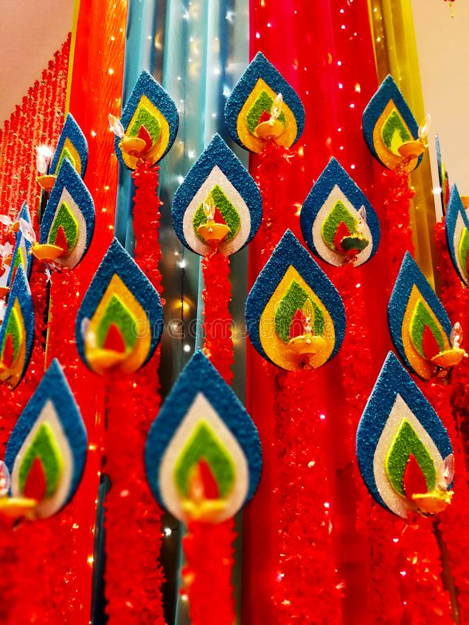 Deepawali庆祝 库存图片