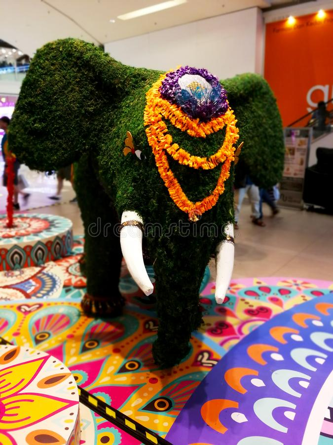 Deepawali celebration stock image