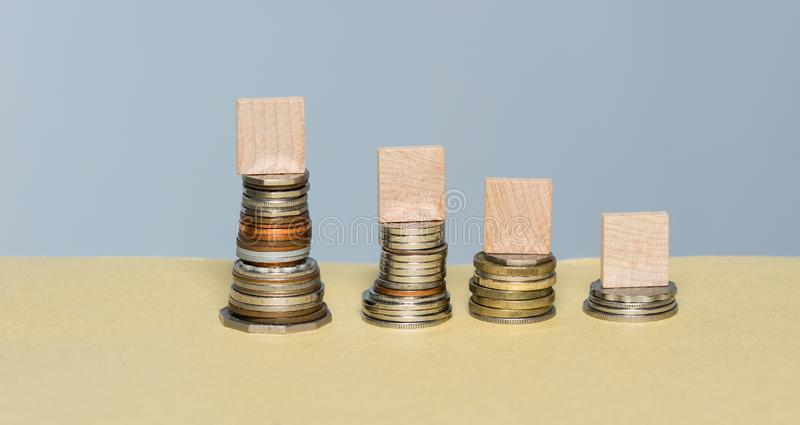 Deepening Loss In an Uncertain Market is Certain stock photos