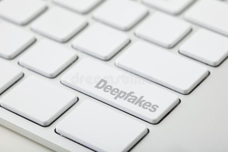 Deepfakes fotografie stock libere da diritti