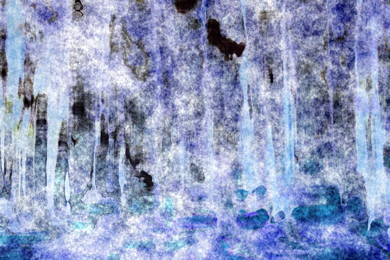 Deepforest_abstractwatercolor15 Free Public Domain Cc0 Image