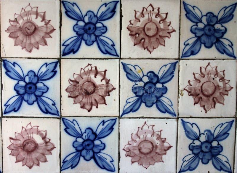 Portuguese beautiful Tiles royalty free stock image