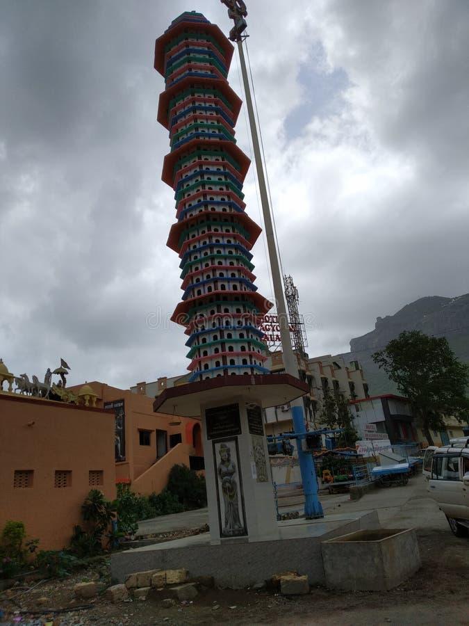 Deepsthambh-Turm lizenzfreies stockbild