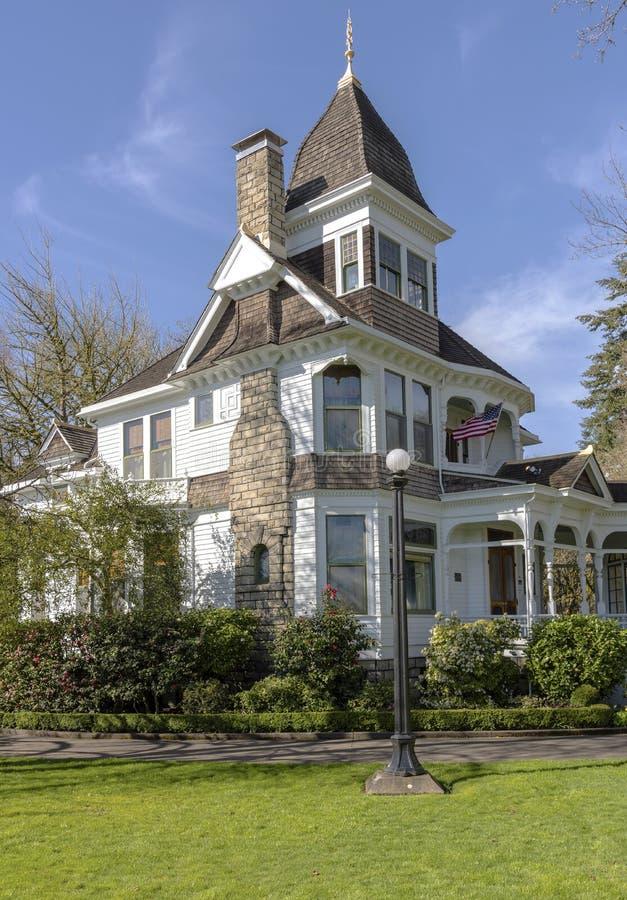 Deepwoodmuseum en tuinen Salem Oregon stock afbeeldingen