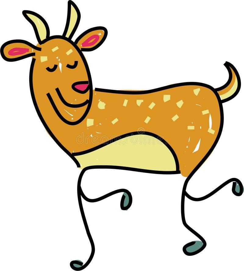 Deer stock illustration