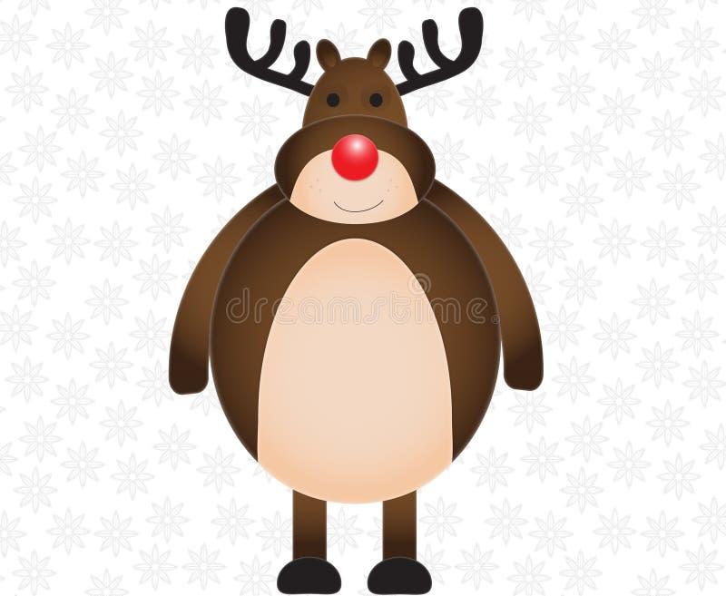 Download Deer stock illustration. Image of illustration, snowy - 21145157