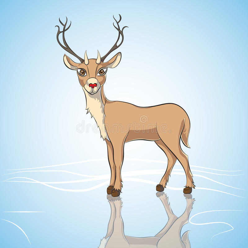 Download Deer stock illustration. Image of illustration, timber - 28168554