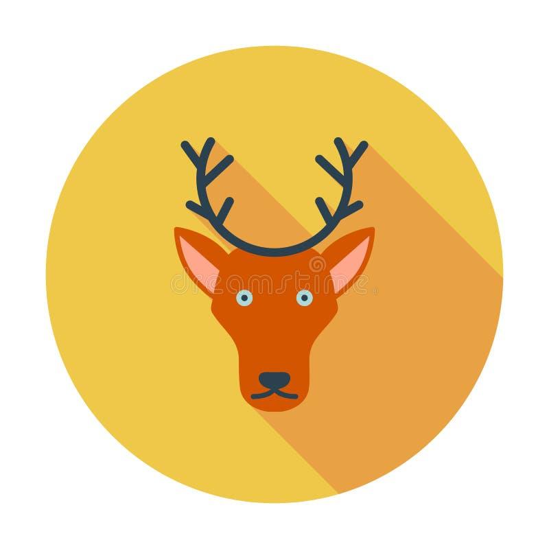 Deer icon royalty free illustration