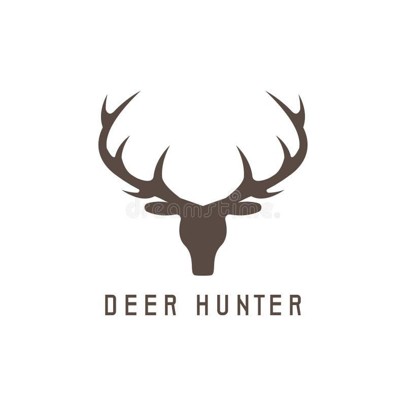 Deer Head Vector Design Template,hunting Stock Vector - Illustration ...
