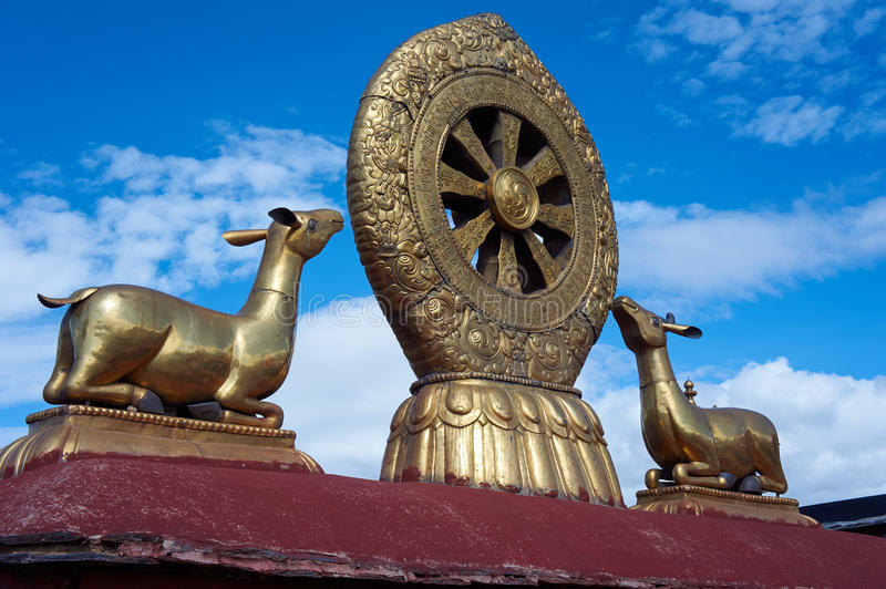 Download Deer hearing the pray stock photo. Image of temple, pray - 28315218