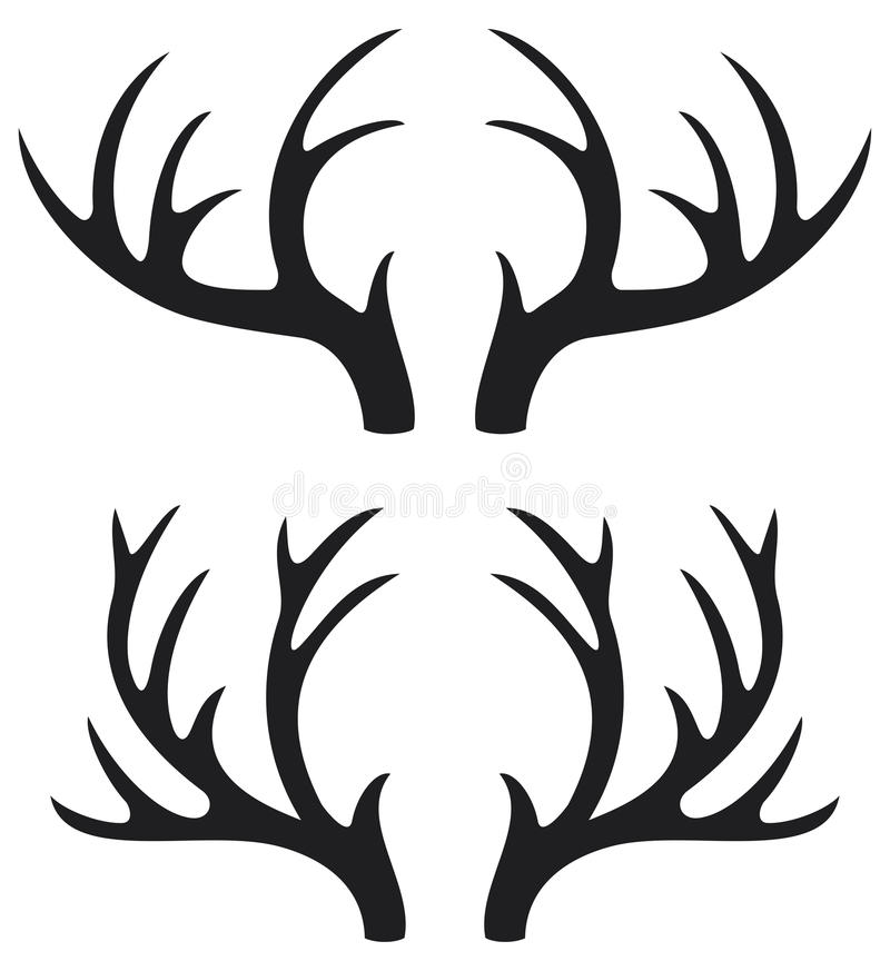 Free Deer Horns Stock Images - 25159974