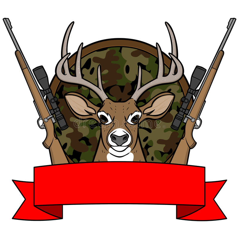 Free Deer Hunting Camp Royalty Free Stock Images - 53855899