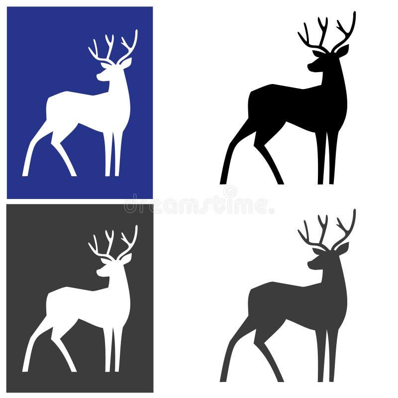 Deer logotype stock image