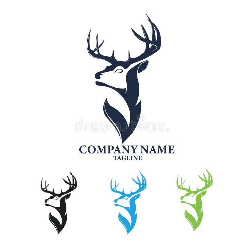 Free Deer Stag Concept Logo Design Stock Photography - 114914322