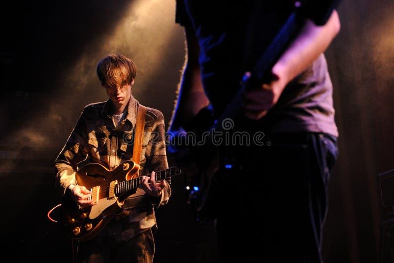 Deerhunter (zespół od Atlanta), wykonuje przy Apolo zdjęcie royalty free