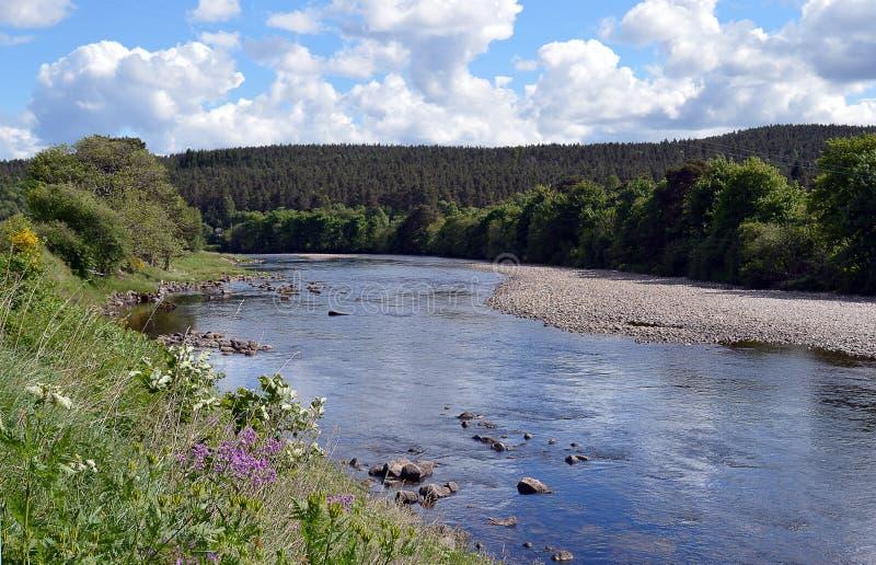 Deeside reale al ` Neil, Aberdeenshire, Scozia di Kincardine O immagini stock libere da diritti