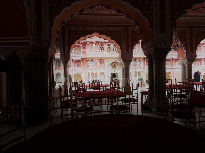 Deewan-e-khas, palazzo della città, Jaipur fotografia stock libera da diritti