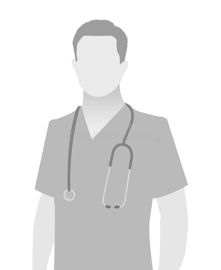 Free Default Placeholder Doctor Half-length Portrait Royalty Free Stock Image - 119556416