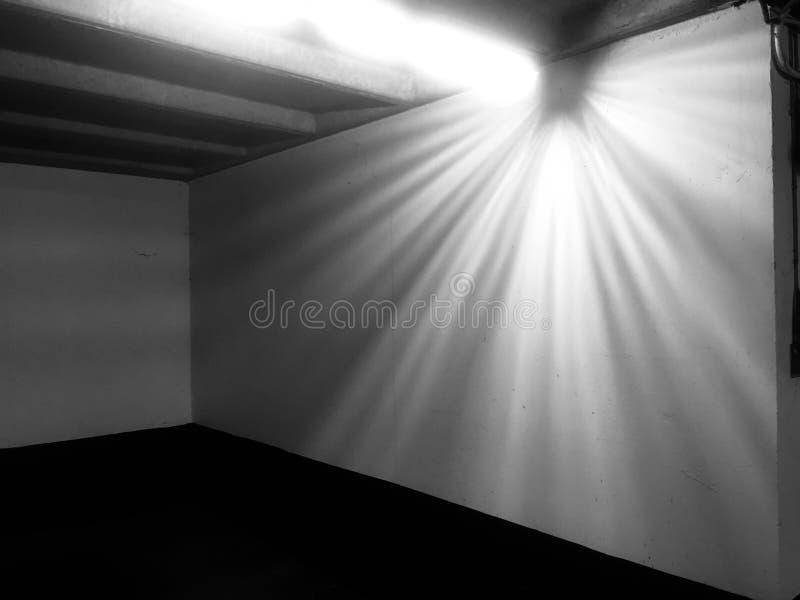 Defect Licht royalty-vrije stock fotografie