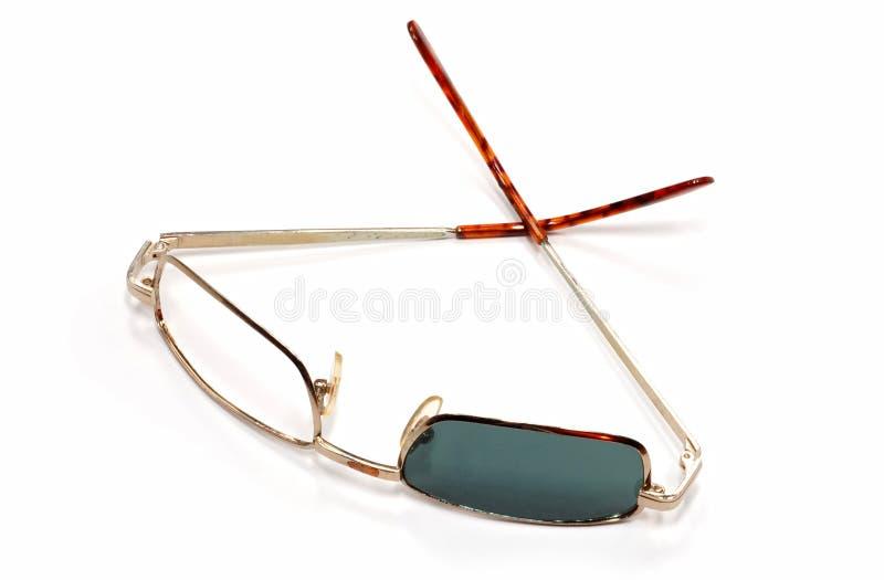 Defekte Sonnenbrillen lizenzfreie stockfotografie