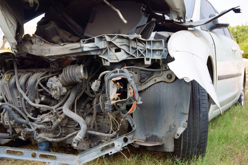 Defekter Motor- Unfall lizenzfreie stockfotografie